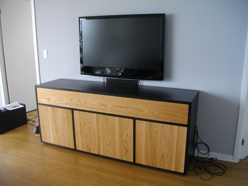 Guy Can Custom build modern furniture as well.