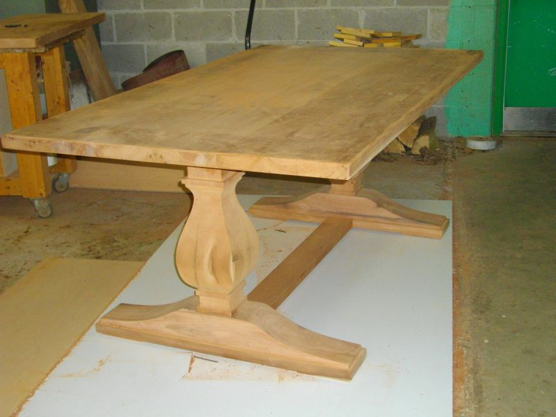 Custom Harvest Table In Progress